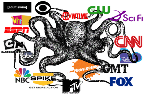 Six Zionist Companies Own 96 of the World's Media