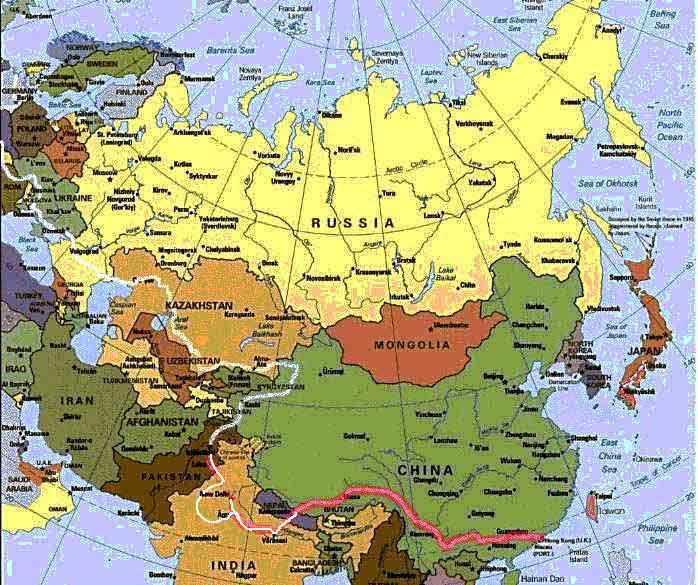map of eurasia and africa