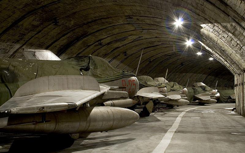 Abandoned Underground Military Bases