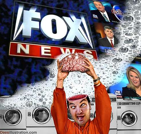 fox news brainwashed