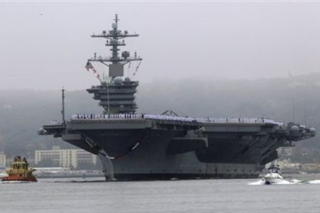 Indian Aircraft Carrier on Routine    And Aimed At Relieving Aircraft Carrier Uss John Stennis