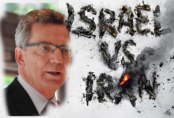 Germany warns Israel against Iran attack