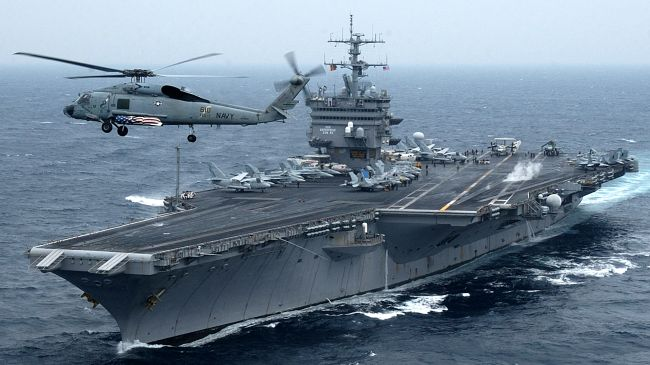 US Admiral warns Iran: We are ready today