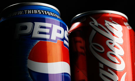 Coca-Cola and Pepsi 'change recipe to avoid putting a cancer warning on their labels'