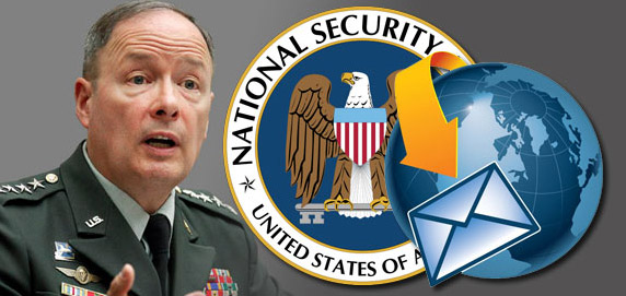 NSA Boss Says Agency Does Not Monitor Your Email
