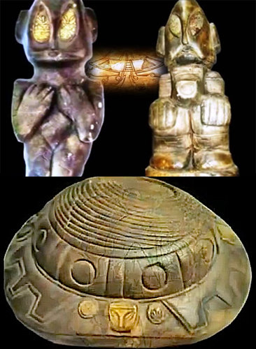 Amazing Alien Related Artifacts Found In Mexico
