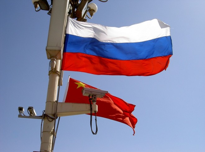 China, Russia Team Up at Sea