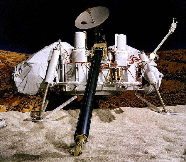 'It's 99% certain there is life on Mars': Shock finding as scientists re-analyse soil samples from Seventies Viking lander