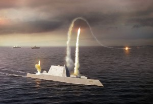 Navy spending $21 billion on three new destroyers, part of response to China's military buildup