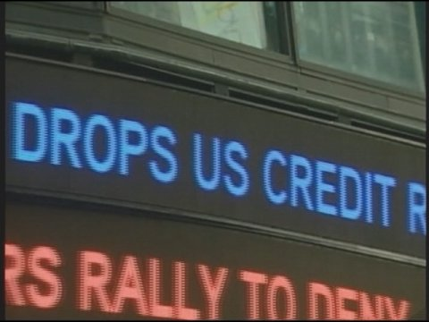 Obama Orders Press Blackout After US Credit Rating Cut