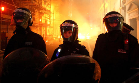 Riots may be controlled with chemicals