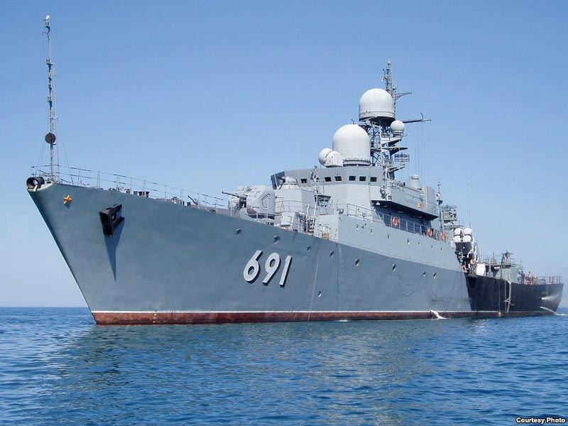 Russian destroyer heads for Syrian port: Report
