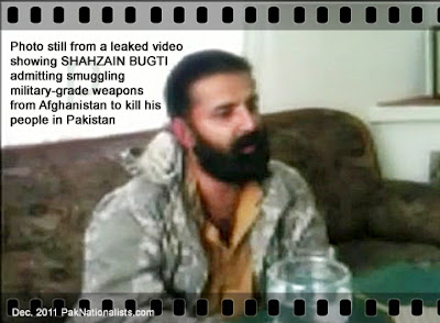 ALERT: Shahzain Bugti Admits He Smuggled Military-Grade Weapons From Afghanistan