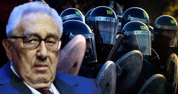 As The Elite Fences Itself In, Kissinger Announces Order Out Of Chaos