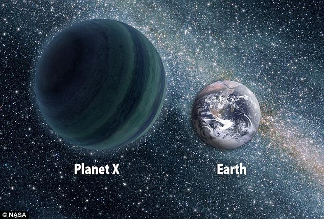 Astronomer insists there is a Planet X four times the size of Earth lurking at the edge of our solar system