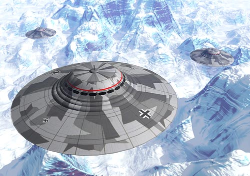 UFO's Originate in Nazi Antarctic Bases?