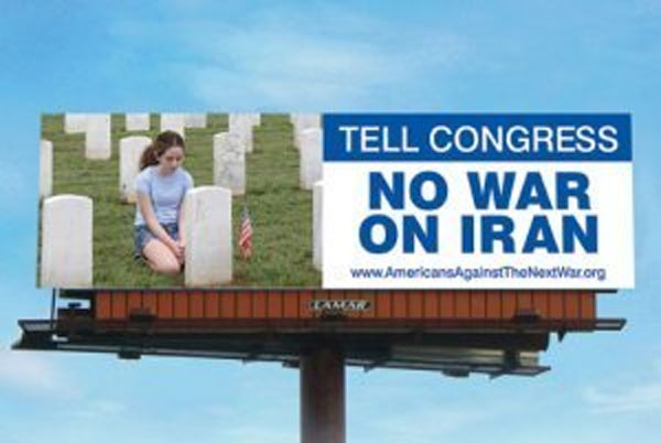 'No War On Iran' Billboards up in Oklahoma City