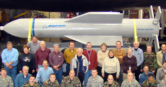 Pentagon's 30,000-pound bunker-buster 'superbomb' ready for use