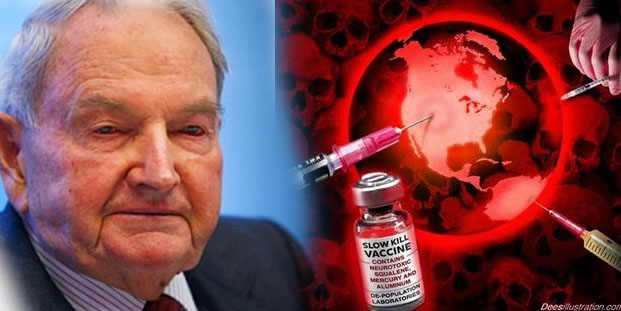Rockefeller's Depopulation Dreams Published by Foundation Linked to Mass Graves