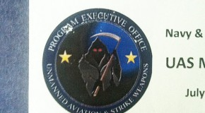 Death From Above: Navy Drone Logo Features Grim Reaper