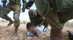 Israeli soldiers expose plight of Palestinian children