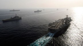 Iran Responds to Massive U.S. Armada Gathering in the Persian Gulf