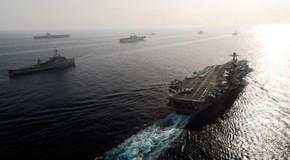Iran Responds to Massive U.S. Armada Gathering in the Persian Gulf