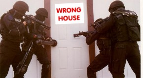 Man Dies in Police Raid on Wrong House