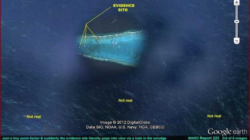 Secret Undersea Base Located