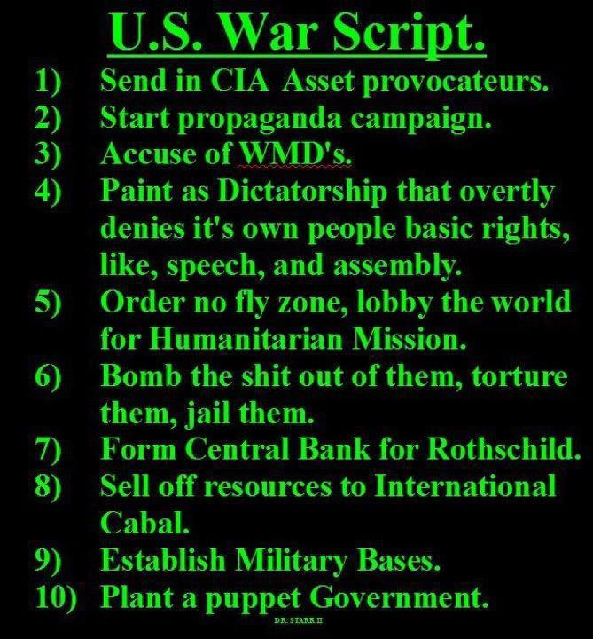 The U.S. War Script
