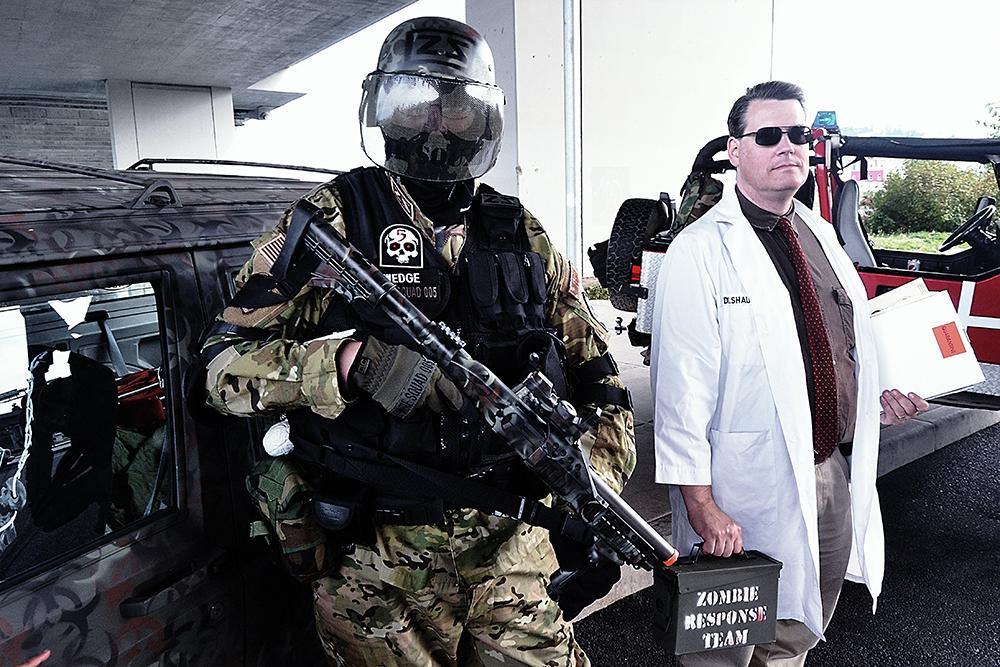 Pentagon Uses Zombie Scenario for Training: US Military Has ...