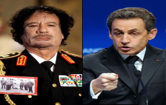 Gaddafi was killed by French secret serviceman on orders of Nicolas Sarkozy, sources claim