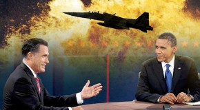 Obama and Romney: War Is Peace