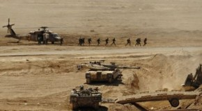 US soldiers arrive in Israel for war game