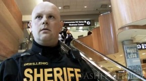 'First Amendment Cop' Becomes Internet Icon