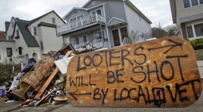 Homeowners Issue Warnings To Looters Following Superstorm Sandy