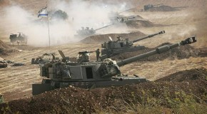 Israel prepares to mobilize 30,000 reserve troops for possible invasion of Gaza after three civilians are killed in direct hit on their apartment building