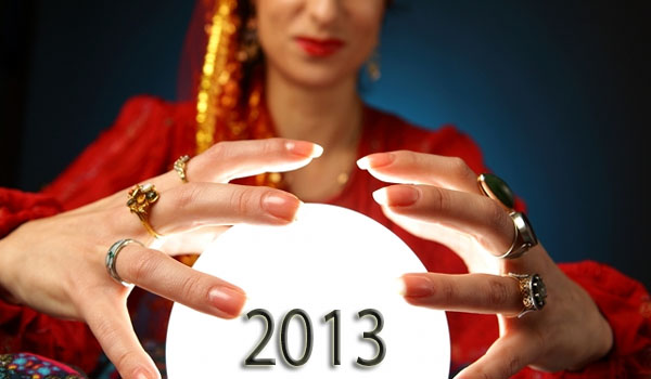 10 Predictions for 2013
