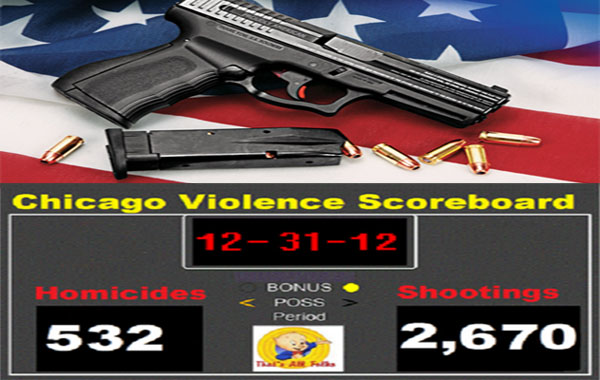 500 Murders In Chicago Show Gun Bans Don't Work