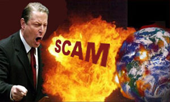 A 14 Trillion Extortion for a Global Warming Scam