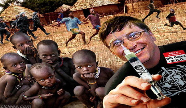 Bill Gates Says Global Vaccination Program is God's Work