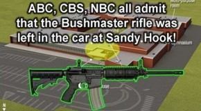 Video: CBS, NBC, ABC Admit No Assault Rifle Used at Sandy Hook