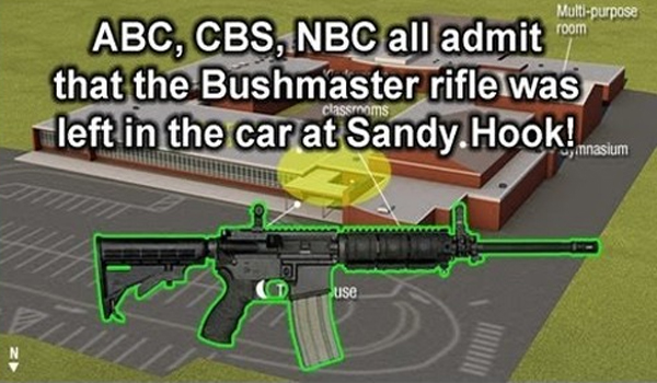 CBS, NBC, ABC Admit No Assault Rifle Used at Sandy Hook