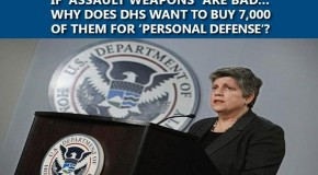 If 'Assault Weapons' Are Bad…Why Does DHS Want to Buy 7,000 of Them for 'Personal Defense'?