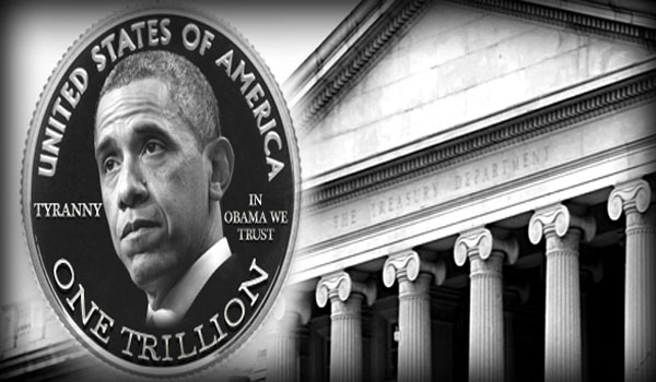 If Obama Can Just Create A Trillion Dollar Coin, Then Why Do We Have To Pay Taxes