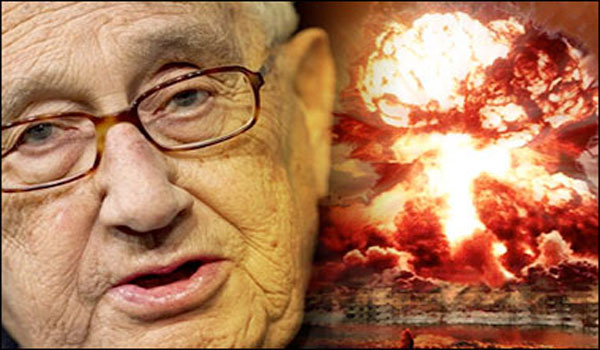 Kissinger Predicts Nuclear War with Iran