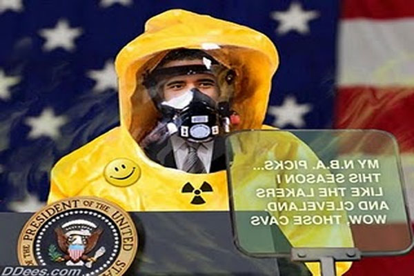 Obama Blasted By Radiation In Hawaii From Fukushima