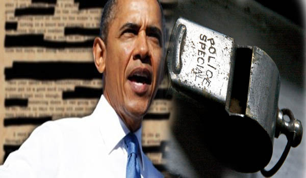 Obama's War On Whistleblowers