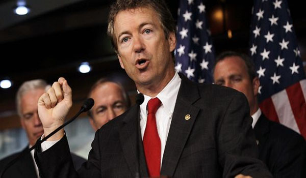 Rand Paul on Gun Executive Order Threat Obama is Not 'King'