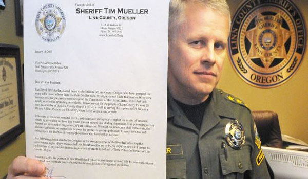 Second Sheriff Refuses to Enforce Gun Confiscation